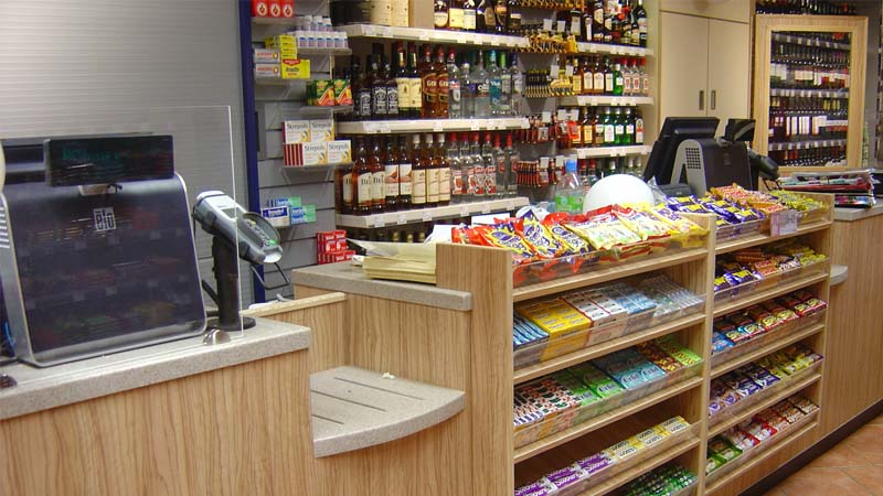 Check-out counter (POSM)