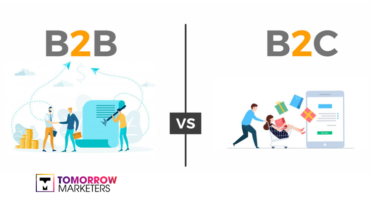 so sánh B2B và B2C