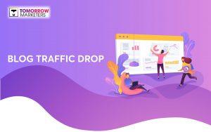 blog sụt giảm traffic
